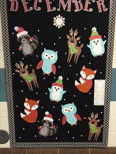PTA Bulletin board winter school