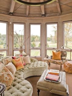 16 Furniture Ideas To Warm Up Your Family Room 4