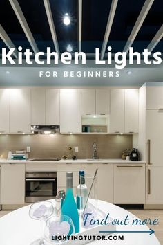 ideas for kitchen lights to help with your difficult kitchen remodel project #kitchenlighting #kitchenlightingideas #kitchenremodel Design Your Kitchen, Kitchen Cabinet Design, Kitchen Cabinets, Interior Lighting, Home Lighting, Layout Design, Interior Decorating Tips, Kitchen Lighting Fixtures, Island