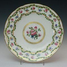 Tableware: A Sèvres Plate, 1777