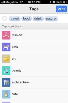 App:Tracks  Tags