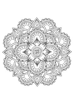 Rose Mandala Coloring Pages. 30 Rose Mandala Coloring Pages. Cute Fox with Roses Foxes Adult Coloring Pages Mandala Art, Mandala Design, Mandalas Painting, Mandalas Drawing, Mandala Coloring Pages, Mandala Pattern, Coloring Book Pages, Dot Painting, Mandala Tattoo