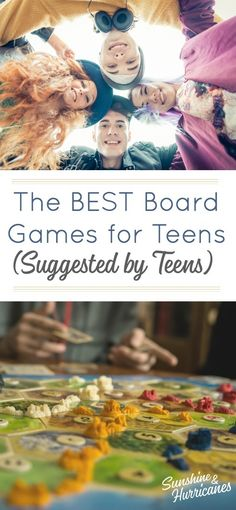 The Best Board Games for Teens. Looking for a way to connect with your teen? Family game night is one of the best ways to bring everyone together and with these suggestions for board games for teens from teens, you'll already be set up for success. Apps For Teens, Activities For Teens, Family Activities, Parenting Teens, Parenting Articles, Parenting Hacks, Parenting Classes, Parenting Humour, Parenting Plan