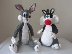 Bugs Bunny & Sylvester the cat