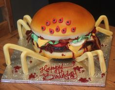 Double Bacon CheeseSpider by Joshua John Russell