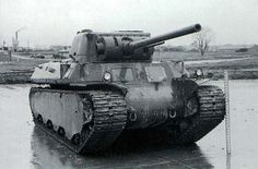 M6 Heavy Tank - World War II. I think I should have one of these in my yard to play in.