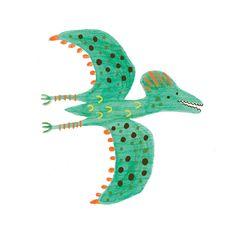 Love drawing dinosaurs :)
