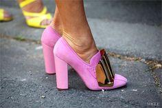 alloftheneonlights:  YSL heels.