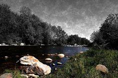 Walking in the creek 1Il torrente Elvo by ramoruso3