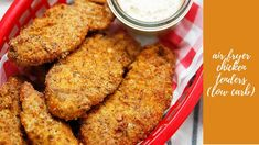 Air Fryer Chicken Tenders - Lexi's Clean Kitchen