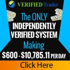 Verified Trader – Discover how to make $600 – $10,000 per day with the only 3rd party independently verified software!  Read more: http://binaryoptions24.net/verified-trader/