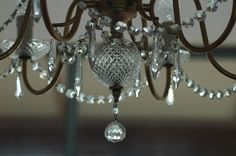 chandelier- also pretty for the bedroom