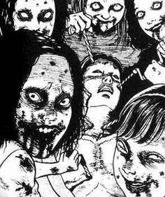 A page for describing HighOctaneNightmareFuel: Junji Ito. Note: This page was cut for reason: Creating red links in 0 articles. Bizarre Art, Creepy Art, Weird Art, Strange Art, Arte Horror, Horror Art, Manga Gore, Japanese Horror, Flipper
