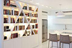 ספריות מעוצבות: 10 דרכים להציג את הספרים שלכם בבית | בית ועיצוב | סלונה