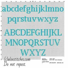 Cross stitch alphabet uppercase and lowercase letters for names with Squirtle Po… - Kreuzstich Cross Stitch Letter Patterns, Cross Stitch Letters, Cross Stitch Designs, Cross Stitch Font, Pokemon Cross Stitch, Free Cross Stitch Charts, Cross Stitching, Cross Stitch Embroidery, Embroidery Alphabet