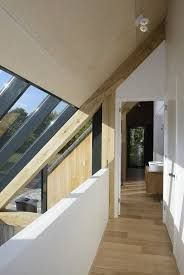 Afbeeldingsresultaat voor schuurwoning Building Design, Building A House, Contemporary Barn, Barn Renovation, Attic Design, Wooden House, Staircase Design, Scandinavian Home, Home Remodeling