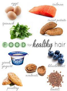 Katherine Schwarzenegger's foods for healthy hair