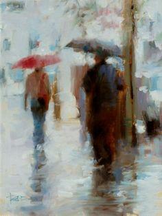 Tae Park | Winter Rain in Venice