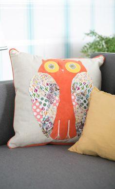 Sweet Owl Pillow