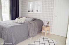Koti Aurorassa: makuuhuoneen sisustus. #makuuhuone #sisustus #kannustalo #iittala