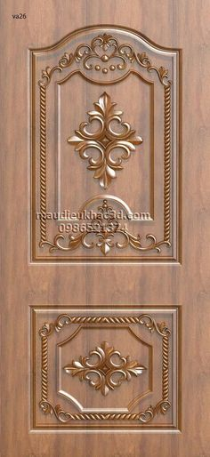 Gorgeous 41 Popular Door Ornament Design Ideas For You New Door Design, Front Door Design Wood, Pooja Room Door Design, Bedroom Door Design, Wooden Door Design, Wooden Doors, Modern Exterior Doors, House Design Photos, Ornaments Design