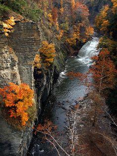 Ithaca, New York, Finger Lakes Region, Upstate New York, Fall Autumn