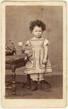 Too cute! Antique photo circa 1865