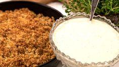 Enklaste vaniljsåsen är den kallrörda råkrämen. Scandinavian Food, Gluten, Butter, Pudding, Sugar, Desserts, Frostings, Angles, Cheese