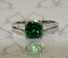 Green Garnet, When and emerald is too soft