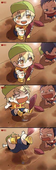 "Kise and Aomine :""D"
