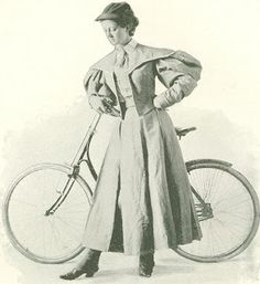 digital history project: Bicycling for Women in the 1890's Bloomer Clothing