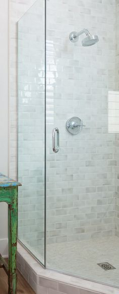 frameless shower glass enclosure