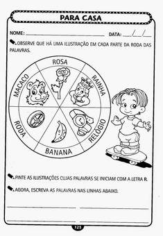 Educação Infantil Atividade-120 Zen, Education, Comics, Kids, Hinata, Homeschooling, Letter P Activities, Preschool Literacy Activities, Language Activities