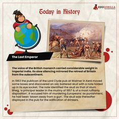 Whose Civilising Mission? #todayhistory #didyouknow #didyouknowthat #edugorilla #education #learning #students #teachers #success #inspiration #motivation #knowledge #WorldWar #WorldWar1 Today History, Last Emperor, World War, Did You Know, Affair, Students, Knowledge, Success, Motivation