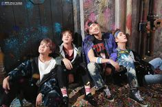 """BTS """"You Never Walk Alone"""" Album Photoshoot Sketch *do not edit without credits*"""
