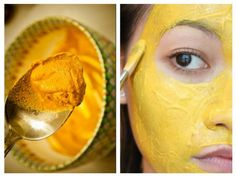 Masca cu turmeric, argilă şi alaun este un elixir imptriva tenului Turmeric, Body Care, Beauty Hacks, Ethnic Recipes, Face Masks, Medicine, Knowledge, Health, Beauty Tricks