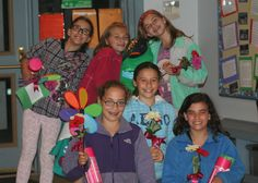 Girl Scouts celebrating!  #supportgirls