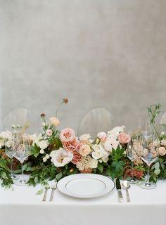 Almond Leaf Studios | Emily Claire Events | Philosophy Flowers | Flourish Calligraphy | Wedding Inspiration, Fine Art, Calligraphy, Wedding Invitations, Caroline Hayden, Vellum Invitation, Susie Salzman