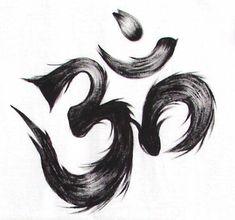 Meaning of the symbol OM Simbols Tattoo, Om Symbol Tattoo, Throat Tattoo, Inca Tattoo, Body Art Tattoos, Buddha Tattoo Design, Om Tattoo Design, Small Tattoo Designs, Small Tattoos