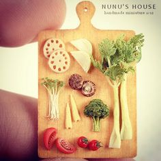 Realistic, Miniature Paris-Inspired Cafe Food Fits On Your Fingertips - DesignTAXI.com