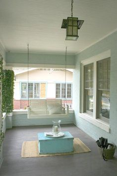 Front Porch Swing. Tradition Craftsman Style