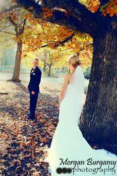 Fall Wedding Photography https://www.facebook.com/MorganBurgamyPhotography
