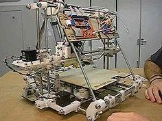 A great great great grandfather of a Star Trek Replicator????  RepRap version 2.0 (Mendel) 3D printer