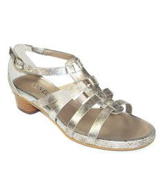 Look at this Pale Kezia Leather Sandal on #zulily today!