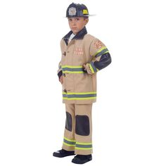Halloween Kids- Firefighter Halloween Costume S, Adult Unisex, Size: Small, MultiColored Career Costumes, Pet Costumes, Cool Costumes, Childrens Halloween Costumes, Halloween Kids, Halloween Party, Children Costumes, Halloween 2016, Children Clothes