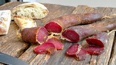 Charcuterie, Preserving Food, Meat Recipes, Sausage, The Cure, Food And Drink, Canning, Pancetta, Hobby