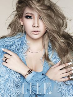 """The one and only CL"" for Elle Korea October 2014. Photographed by Kim Young Jun"