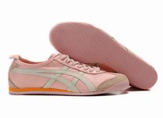 outlet store 106b7 9fc12 Onitsuka Tiger Mexico 66 Mens Pink Grey Shoes
