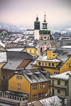 Innsbruck, Austria / photo by Fabian Irsara My favorite place on my European holiday...so peaceful.