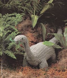 Crochet Toy Dinosaur Pattern - Crochet Pattern PDF by MsBobbies on Etsy Crochet Animals, Crochet Toys, Crochet Baby, Crochet Dinosaur Patterns, Crochet Patterns, Crochet Magazine, Great Birthday Gifts, Crochet Hook Sizes, Yarn Needle
